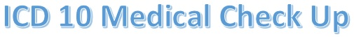 Kode ICD 10 medical check up mcu