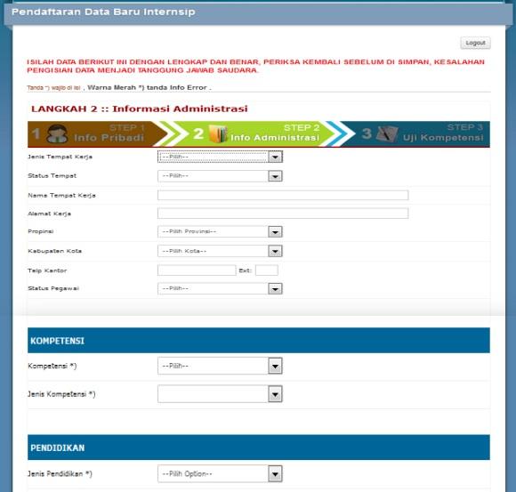 informasi administrasi peserta internsip