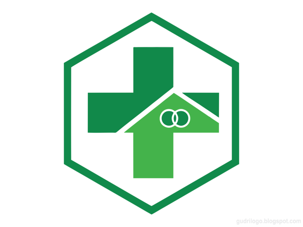 Gambar logo akreditasi puskesmas vector png terbaru