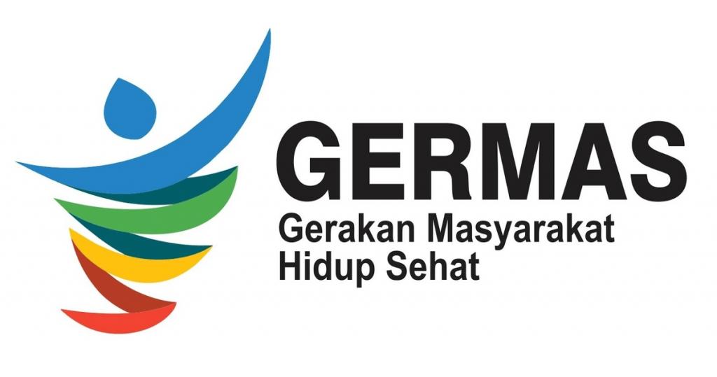 Gambar logo germas kemenkes png terbaru