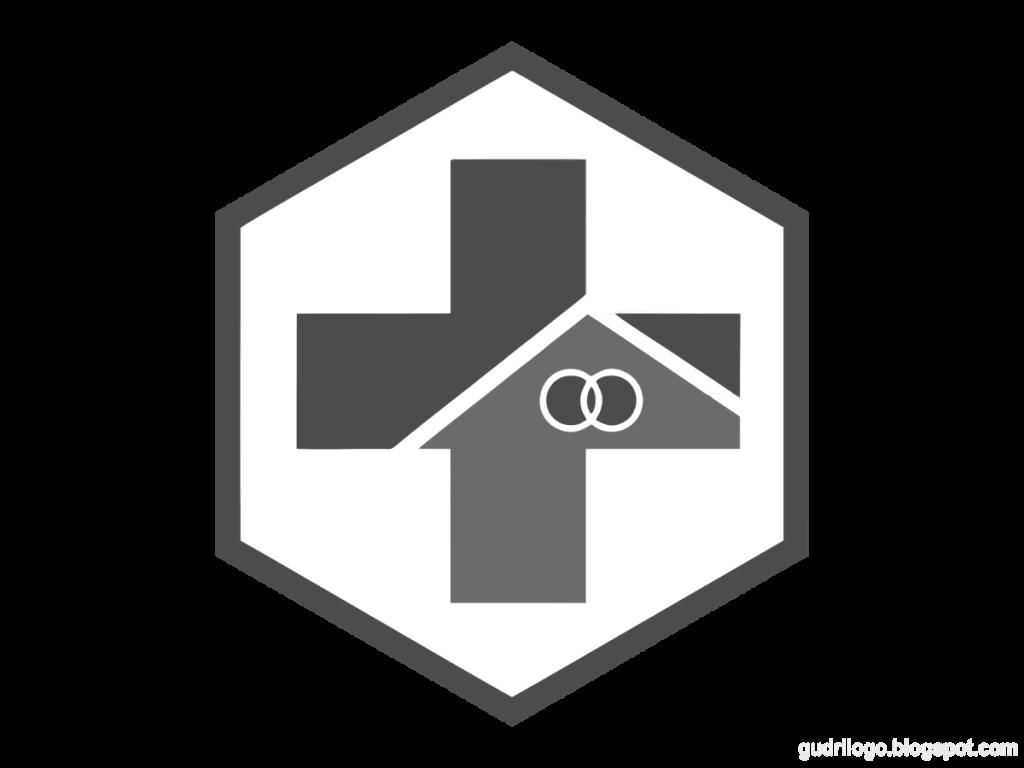 Logo-puskesmas-hitam-putih