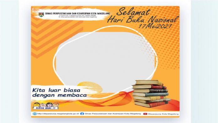 Cara Membuat Twibbon Kartu Ucapan Selamat Hari Buku Nasional