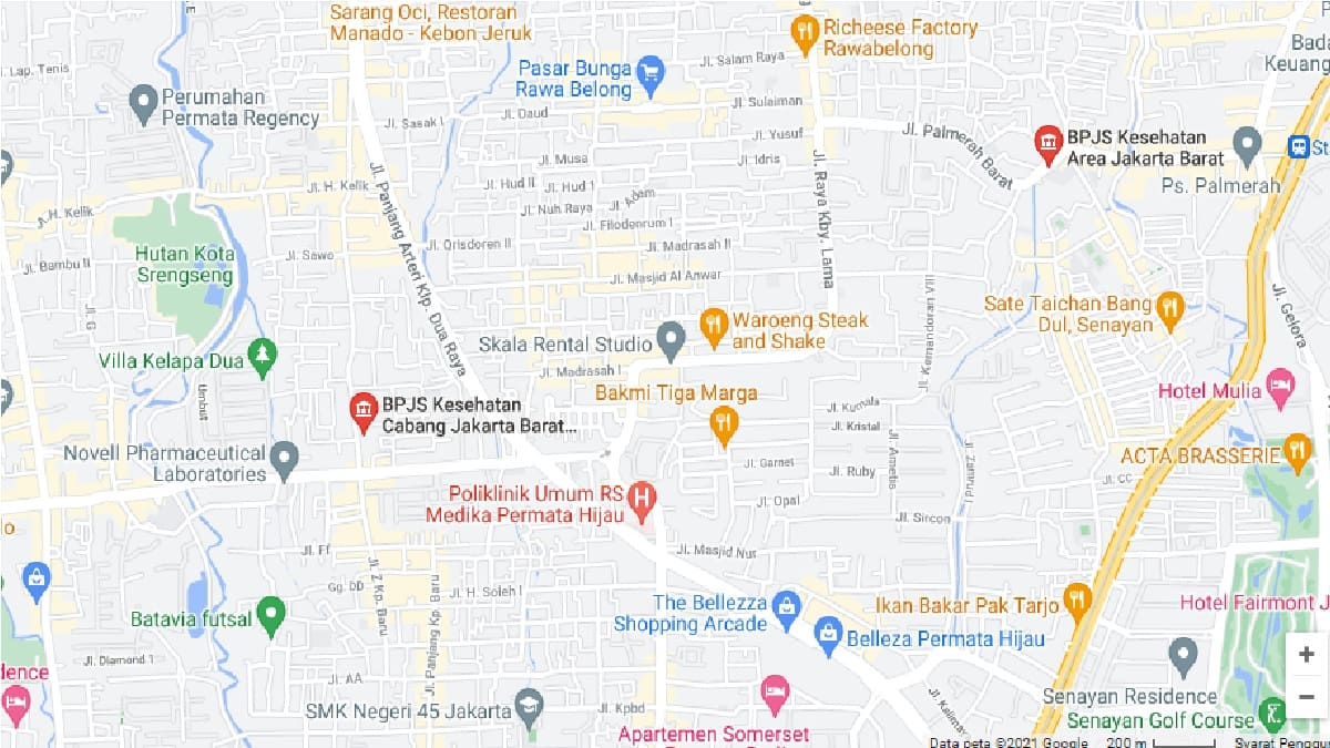Alamat, Jam Kerja dan Nomor Telepon Kantor BPJS Kesehatan Jakarta Barat