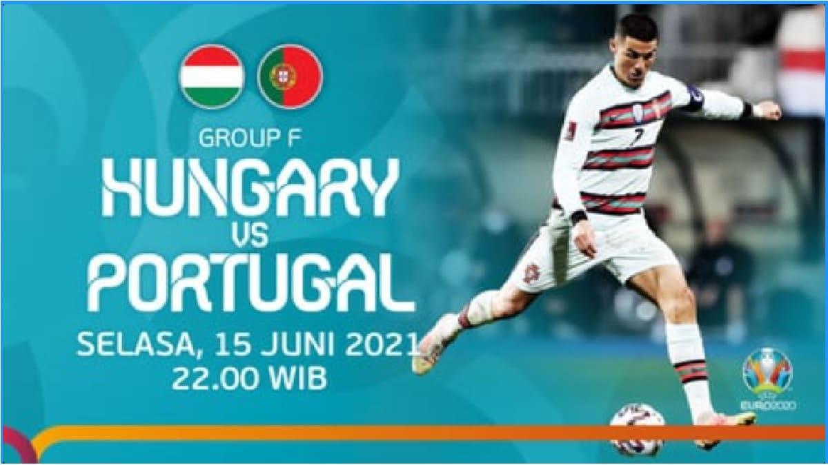 Link Live Streaming Bola Hongaria Vs Portugal