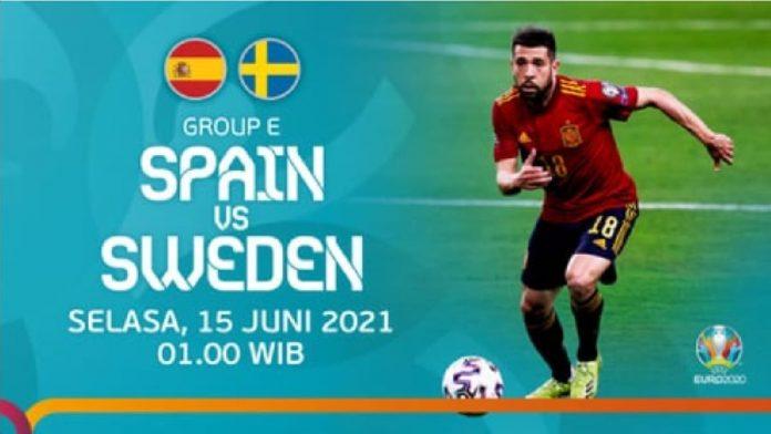 Link Live Streaming Bola Spanyol Vs Swedia Euro 2020