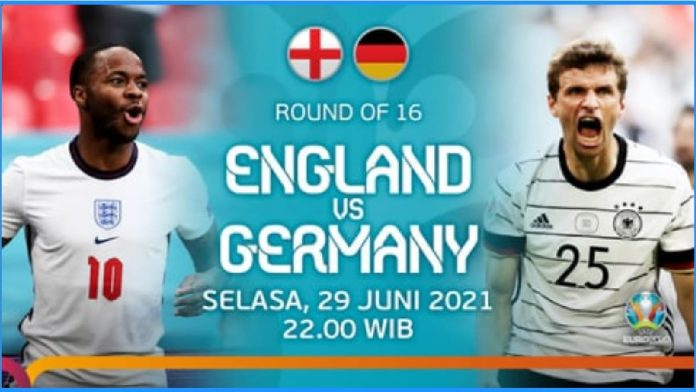 Link Live Streaming Inggris vs Jerman Pada Babak 16 Besar Euro 2020