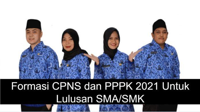 Peluang Emas Hari Ini, Formasi CPNS dan PPPK Untuk Lulusan SMASMK
