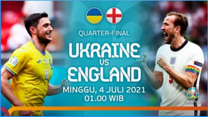 Tautan Live Streaming Bola Ukraina Vs Inggris Lancar Tidak Buffering