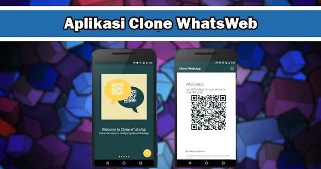 Aplikasi Clone WhatsWeb